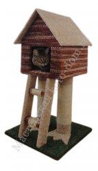 Как сделать крышу домика у кошки